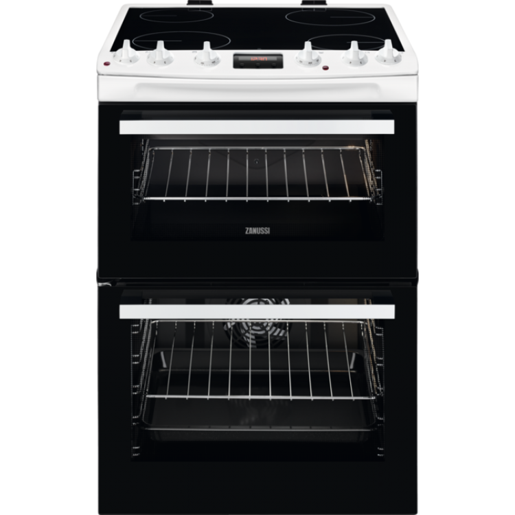 Zanussi ZCV66250WA Electric Cooker - White