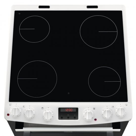 Zanussi ZCV66250WA Electric Cooker - White