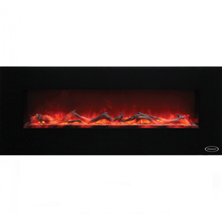 Stanley Argon Wall Hung 140cm Fire Black | ARWH140