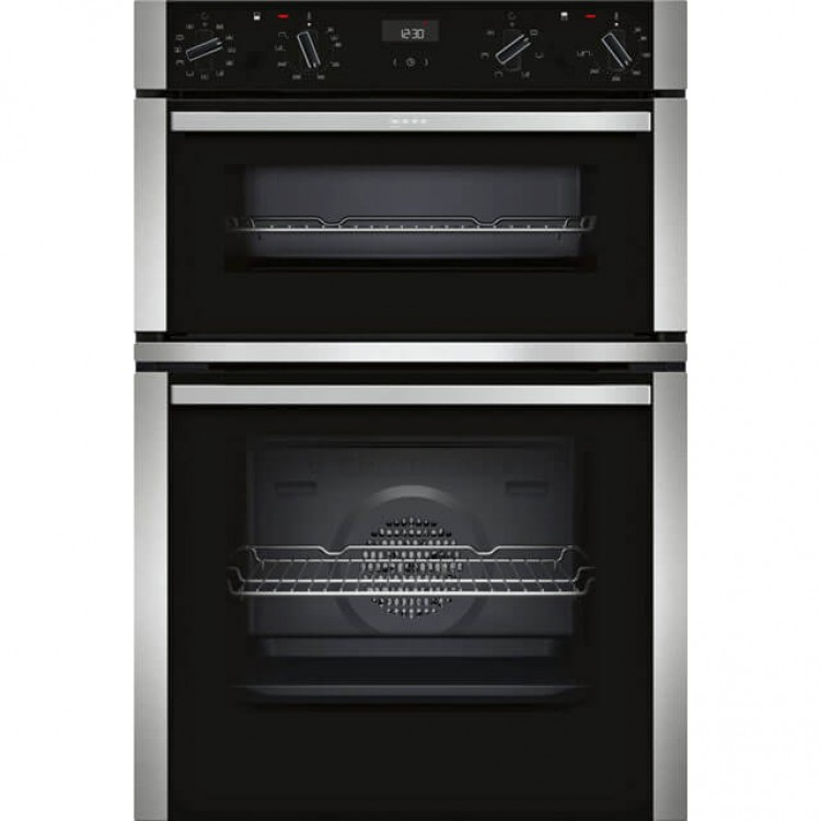 Neff U1ACE5HN0B Built-in Double Oven with CircoTherm® Black