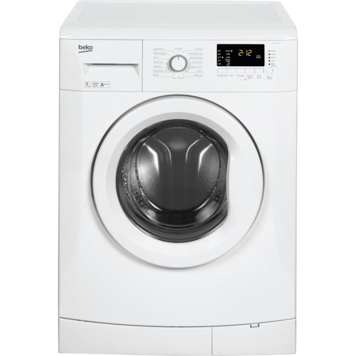 beko wmb71233w 7kg 1200rpm washing machine white. Black Bedroom Furniture Sets. Home Design Ideas