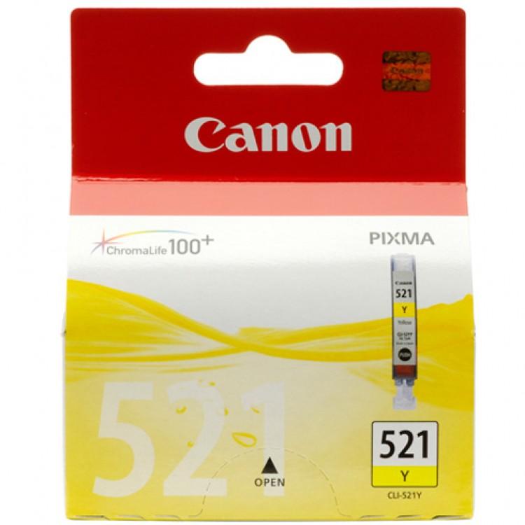 Canon Yellow Ink Cartridge | CLI-521Y