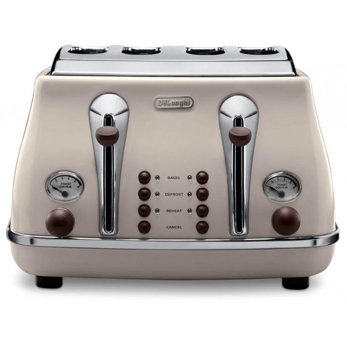 Cream Toaster Ovens ~ Delonghi icona vintage slice cream toaster ctov bg