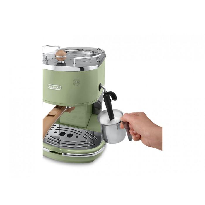 Delonghi EC0V310.GR green coffee machine