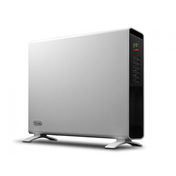 how to set timer on delonghi heater