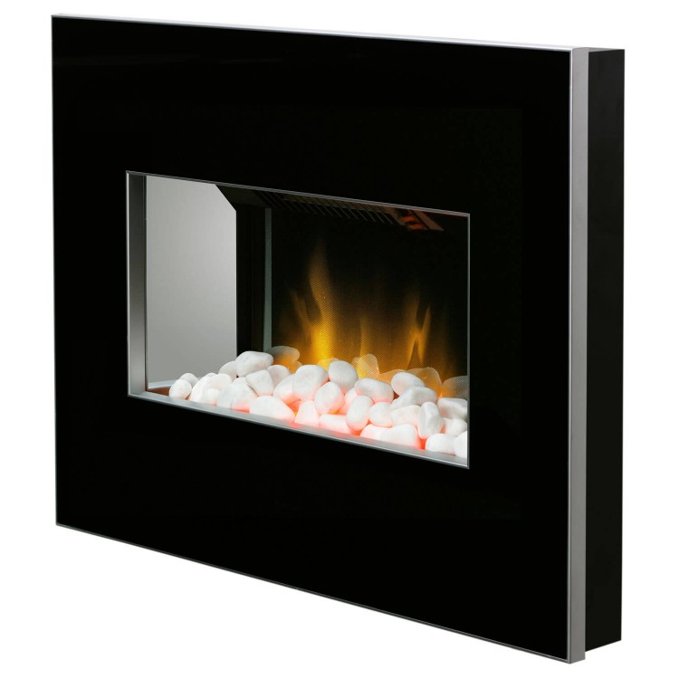 Dimplex Clova Wall Mounted Electric Fire Black | CLV20B