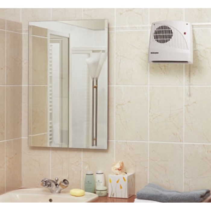 Radiant Bathroom Heaters: Dimplex Kitchen/Bathroom Downflow Fan Heater FX20V