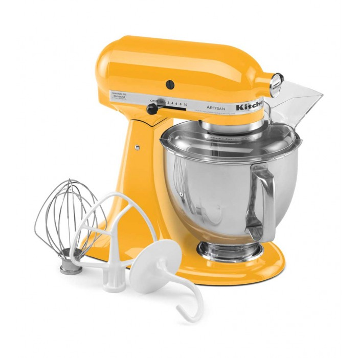 Kitchen Aid Artisan Series 4 8 L Tilt Head Stand Mixer Yellow Pepper 5ksm150psbyp Display