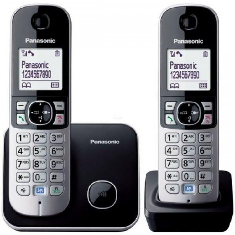 Panasonic Digital Cordless Phone with 2 Handsets | KXTG6812
