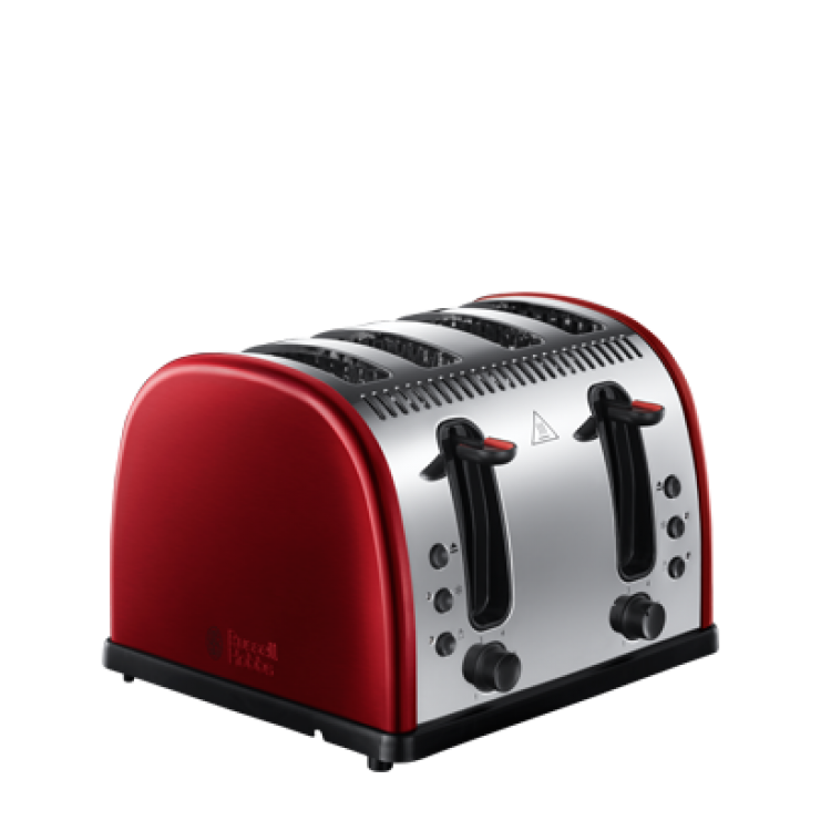 RUSSELL HOBBS 21301 4SL RED TOASTER